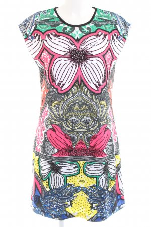 Cavalli Shirt Dress multicolored polyester
