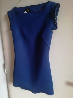 Cavalli Long Top blue polyamide