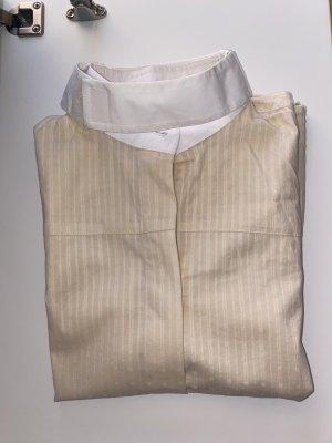 Cavallo Bluzka ze stójką biały-jasnożółty