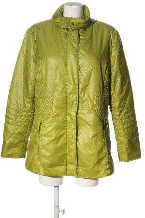Cavita Kurtka przeciwdeszczowa bladożółty Pikowany wzór W stylu casual