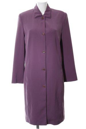 Cavita Manteau mi-saison violet style d'affaires