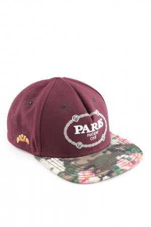 Cayler & Sons Baseball Cap red flower pattern casual look