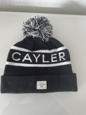 Cayler & Sons Knitted Hat black-white