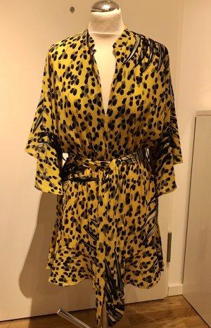 Cayro Woman von Candy Couture: Jumpsuit, kurzer Einteiler Gelb Schwarz halblanger Arm, Gr. 38/40 neu