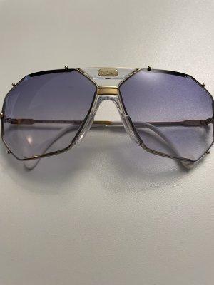 Cazal Okulary retro biały