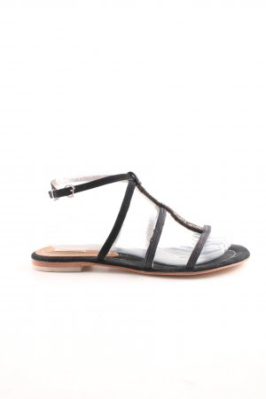 CB by Coral Blue Strapped Sandals black casual look