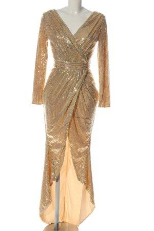 CBR Evening Dress gold-colored elegant