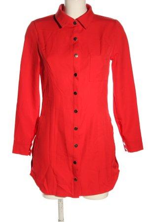 CBR Shirtwaist dress red casual look