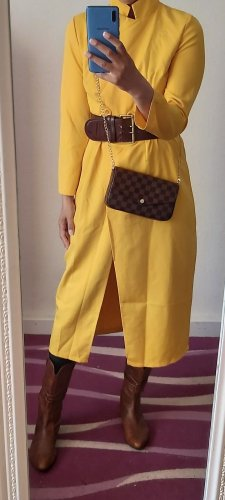 CBR Maxi Dress yellow