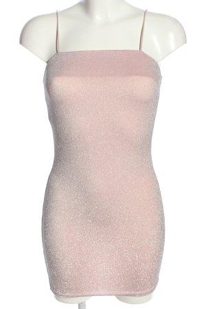 CBR Minikleid pink meliert extravaganter Stil
