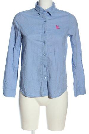CC Double O Long Sleeve Shirt blue casual look
