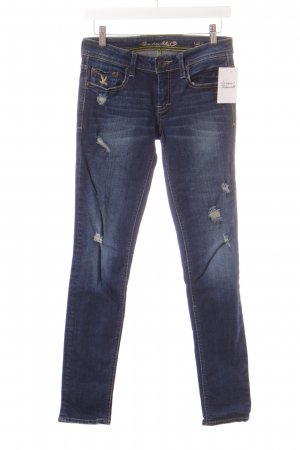 CC Double O Slim Jeans dunkelblau Casual-Look