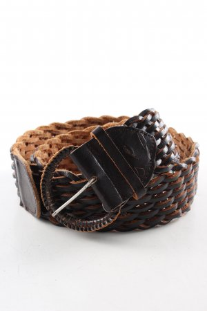 CCDK Braided Belt brown business style
