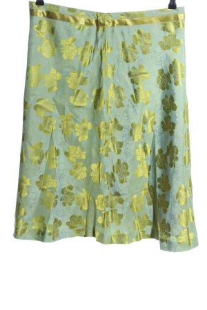 CCDK Midi Skirt green-gold-colored mixture fibre