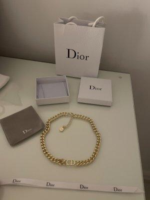 CD Christian Dior Kette Gold neu mit Verpackung