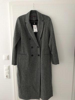 Comptoir des Cotonniers Wool Coat anthracite wool