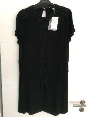 Comptoir des Cotonniers Midi Dress black viscose