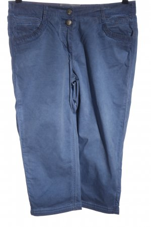 Cecil 3/4 Length Trousers blue casual look
