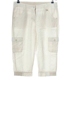 Cecil Pantalon 3/4 blanc style décontracté