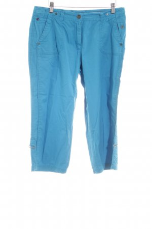 Cecil 3/4-Hose blau Casual-Look