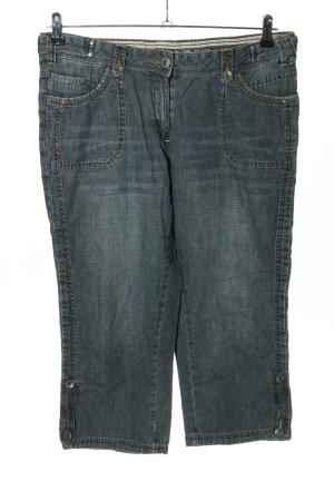 Cecil 3/4 Jeans blau Casual-Look
