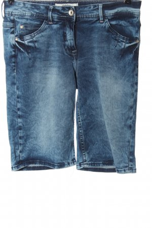 Cecil 3/4-jeans blauw casual uitstraling