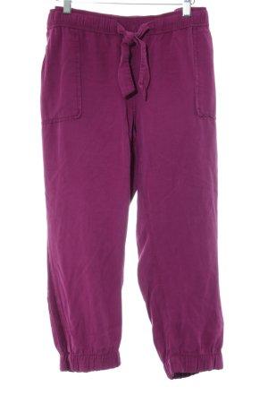 Cecil 7/8-Hose pink schlichter Stil