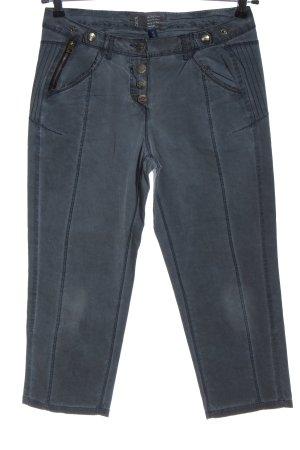 Cecil 7/8-broek blauw casual uitstraling