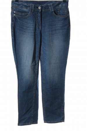 Cecil 7/8-jeans blauw casual uitstraling