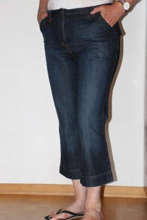 Cecil 3/4-jeans donkerblauw Katoen