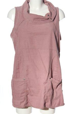 Cecil ärmellose Bluse pink Streifenmuster Casual-Look
