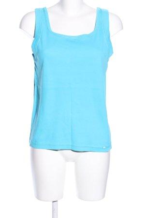 Cecil Top basic blu stile casual