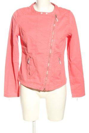 Cecil Bikerjacke pink Casual-Look