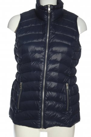 Cecil Biker Vest blue quilting pattern casual look