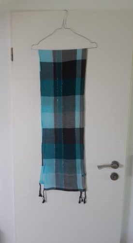 CECIL Blau-grün-grauer Schal