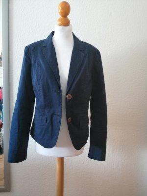 Cecil Jersey Blazer blue-dark blue