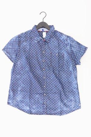 Cecil Bluse blau gepunktet Größe XL