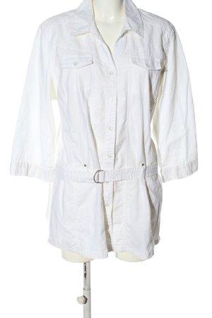 Cecil Chaqueta tipo blusa blanco look casual