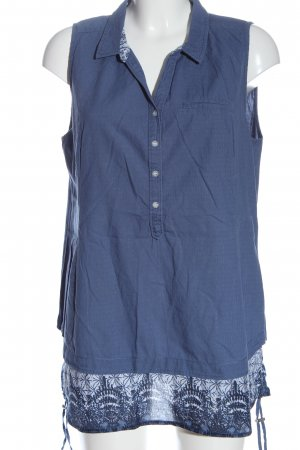 Cecil Blouse topje blauw volledige print casual uitstraling
