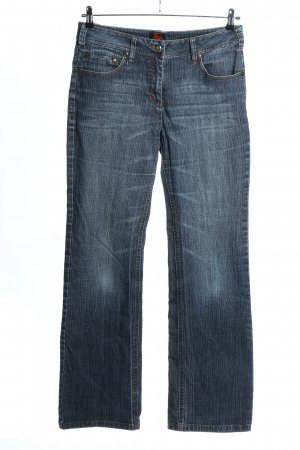 Cecil Boot Cut Jeans blue casual look