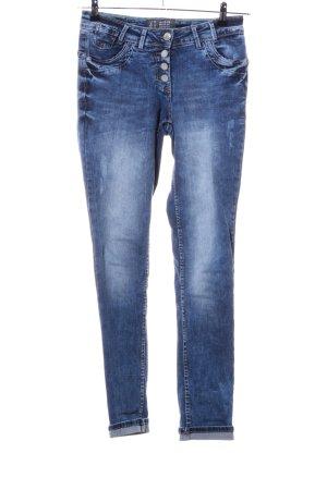 Cecil Jeans boyfriend bleu style décontracté