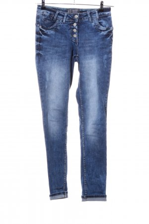 Cecil Boyfriend jeans blauw casual uitstraling
