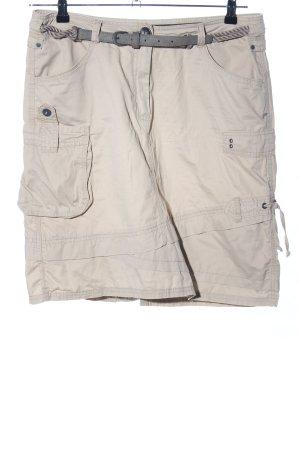 Cecil Falda estilo cargo blanco puro look casual