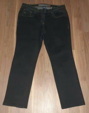 Cecil Jeans stretch gris anthracite-bleu foncé coton