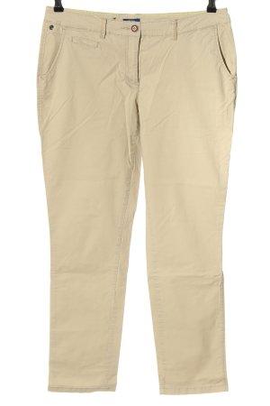 Cecil Pantalone chino bianco sporco stile casual