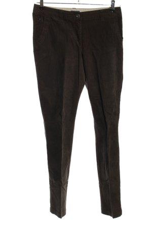 Cecil Pantalone di velluto a coste marrone stile casual
