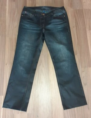 Cecil Damen Baumwoll-Jeans NEU wertig Gr. 40/L W31 antrazit