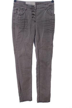 Cecil Five-Pocket-Hose hellgrau Casual-Look