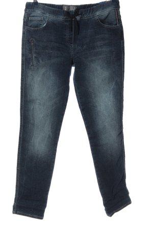 Cecil Pantalone cinque tasche blu stile casual