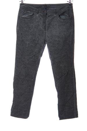 Cecil Pantalón de cinco bolsillos negro moteado look casual